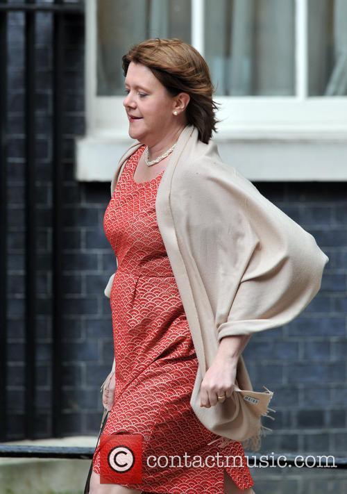 Culture Secretary Maria Miller arrives 10 Downing Street