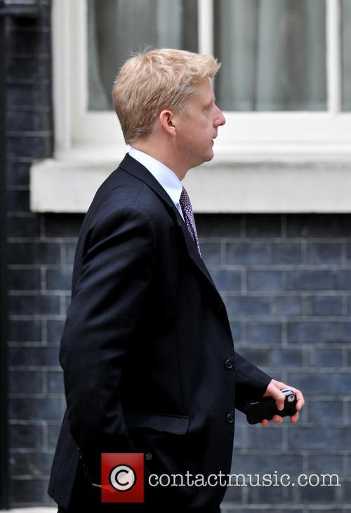 Jo Johnson leaves 10 Downing Street