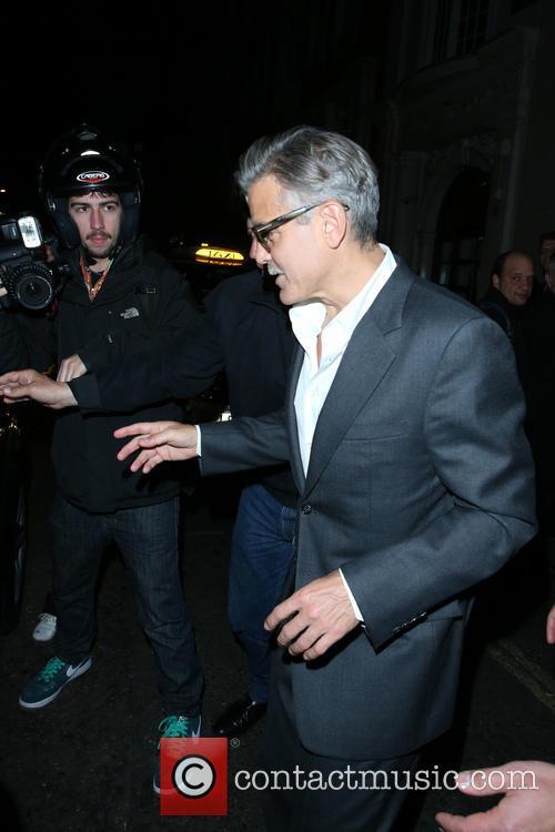 George Clooney Leaves Nobu Berkeley