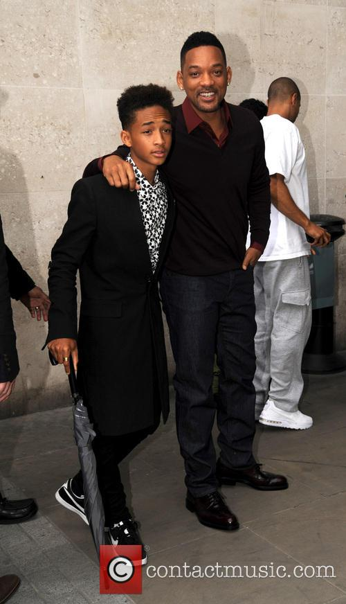Will Smith and Jaden Smith 6