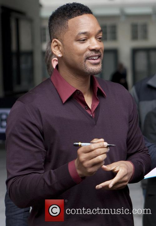 will smith celebrities outside the bbc radio 3683154