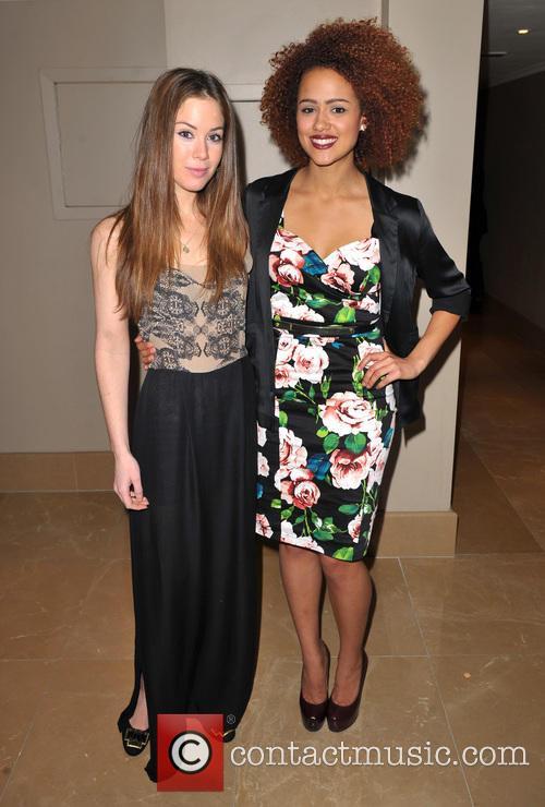 Roxanne Mckee and Nathalie Emmanuel 7