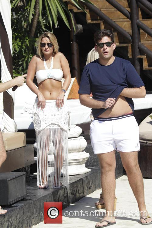 Sam Faiers and James 'arg' Argent 3