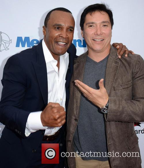 Sugar Ray Leonard and Benito Martinez