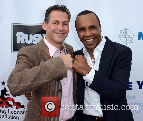 Sugar Ray Leonard, Gavin Kelly, Santa Monica Pier
