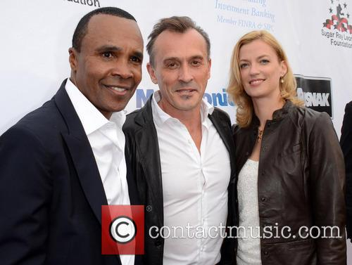 Sugar Ray Leonard and Robert Knepper 7