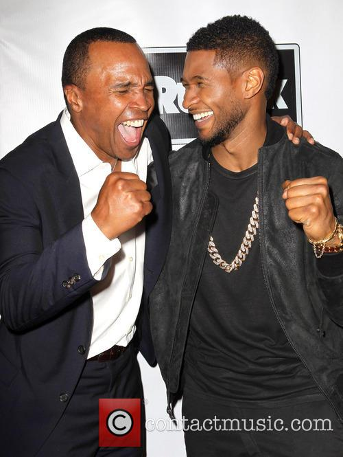 Sugar Ray Leonard and Usher 4
