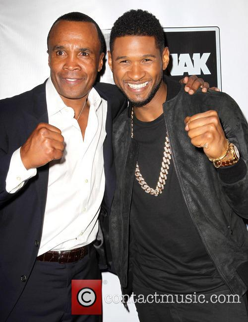 Sugar Ray Leonard and Usher 5