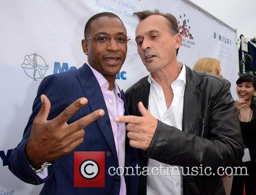 Tommy Davidson and Robert Knepper 2