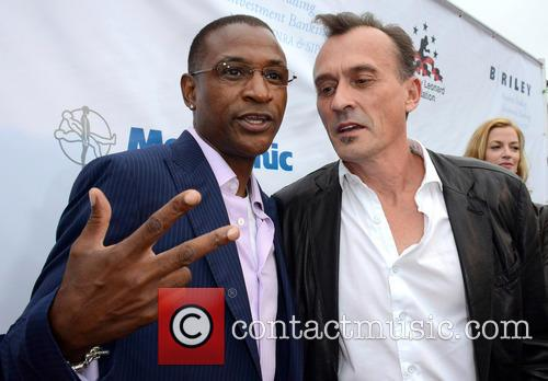 Tommy Davidson and Robert Knepper 1