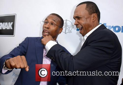 Tommy Davidson and Sugar Ray Leonard 4