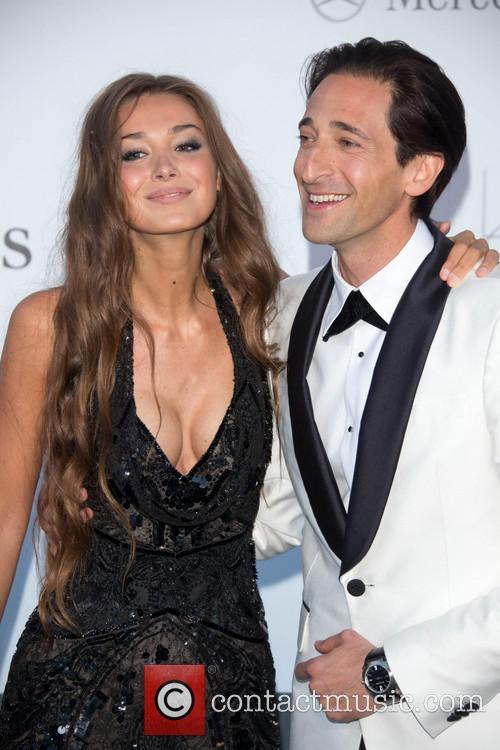 Adrien Brody and Lara Lieto 1