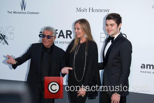 Roberto Cavalli, Eva Cavalli and Robin Cavalli 4