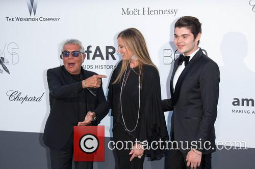 Roberto Cavalli, Eva Cavalli, Robin Cavalli, Cannes Film Festival