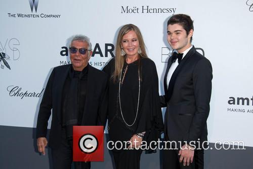Roberto Cavalli, Eva Cavalli and Robin Cavalli 1
