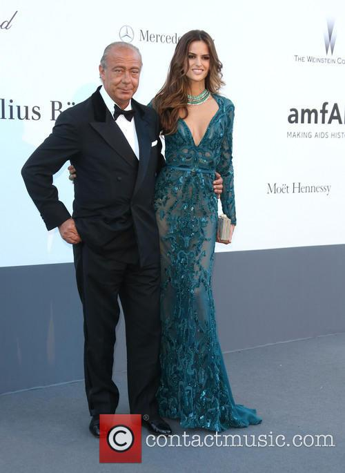 Izabel Goulart and Fawaz Gruosi 9