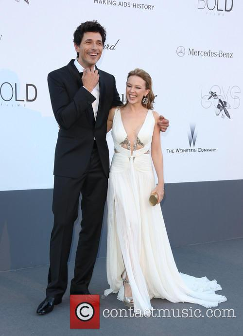 Kylie Minogue and Andres Velencoso 6