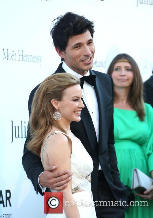 Kylie Minogue and Andres Velencoso 9