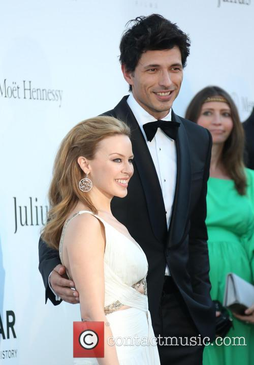 Kylie Minogue and Andres Velencoso 5