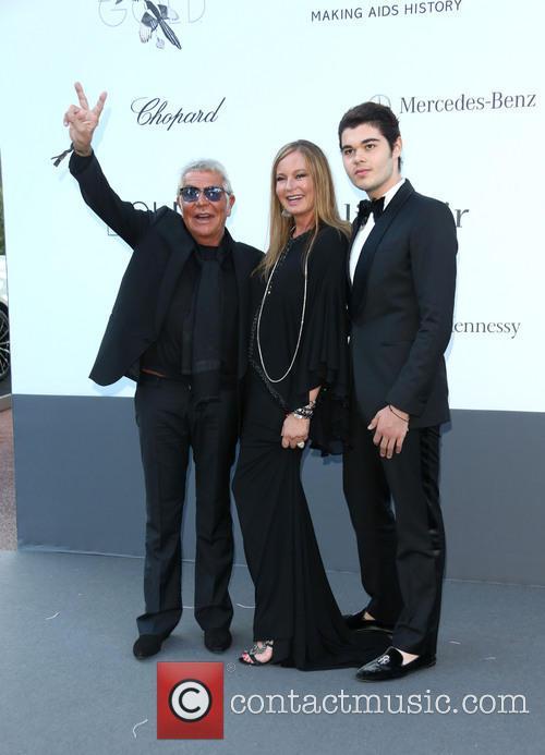 Roberto Cavalli, Eva Cavalli and Robin Cavalli 2