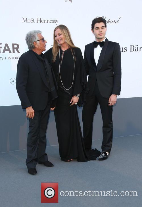 Roberto Cavalli, Eva Cavalli and Robin Cavalli 3