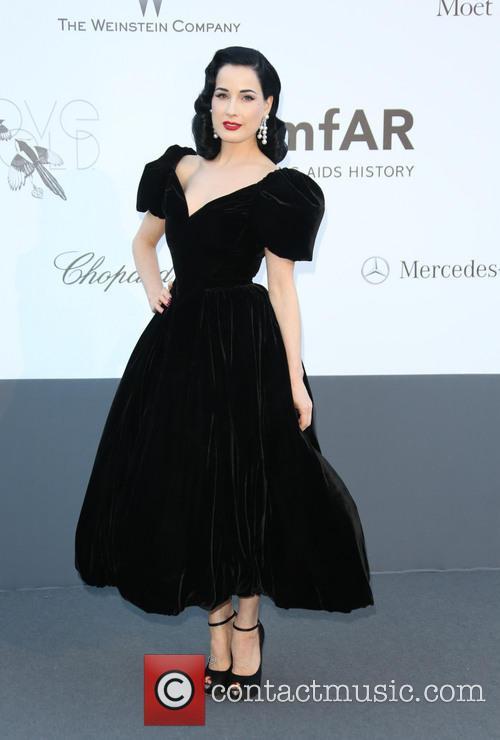 Dita Von Teese, Cannes Film Festival