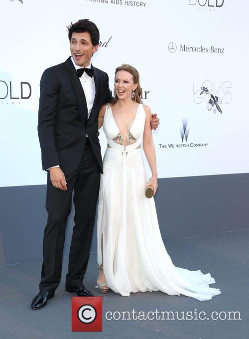 Kylie Minogue and Andres Velencoso 7
