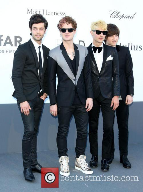 Hot Chelle Rae, Ian Keaggy, Nash Overstreet and Ryan Follese