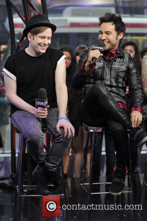 Patrick Stump and Peter Wentz 3