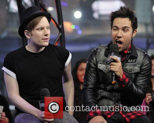 Patrick Stump and Peter Wentz 10