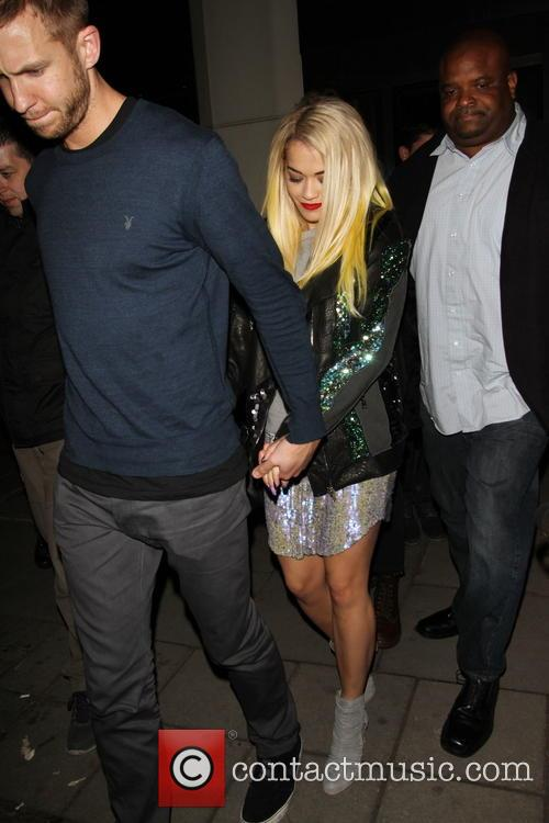 Rita Ora and Calvin Harris 6