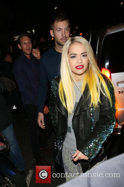 Rita Ora and Calvin Harris 9