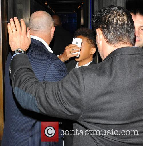 jaden smith celebrities at hakkasan restaurant 3684768
