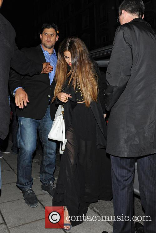 selena gomez celebrities at hakkasan restaurant 3684749