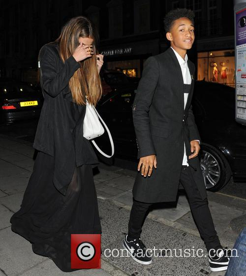 Selena Gomez and Jaden Smith 7
