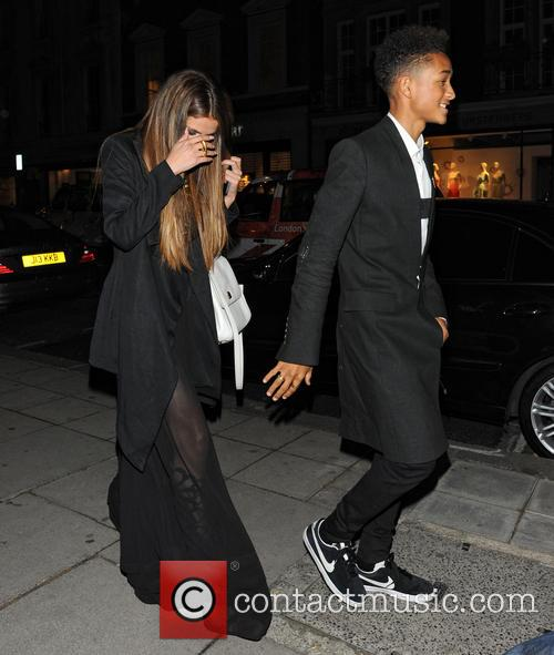 Selena Gomez and Jaden Smith 1