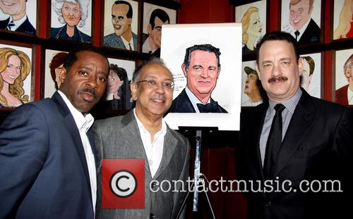 Courtney B. Vance, George C. Wolfe and Tom Hanks 1
