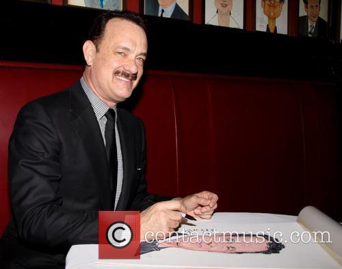 Tom Hanks portrait unveiling