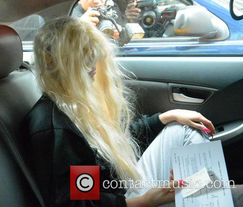 Amanda Bynes, Manhattan Courthouse