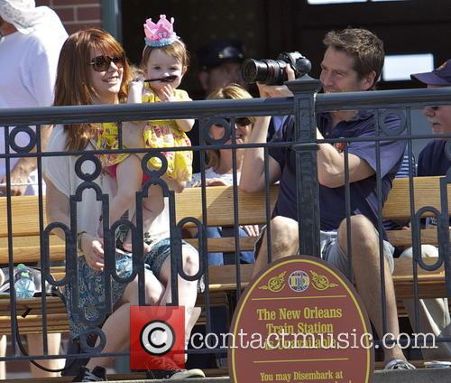 Alexis Denisof, Alyson Hannigan, Keeva Jane Denisof and Satyana Marie Denisof 8