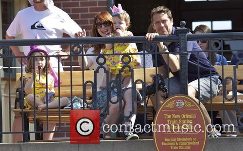 Alexis Denisof, Alyson Hannigan, Keeva Jane Denisof and Satyana Marie Denisof 10