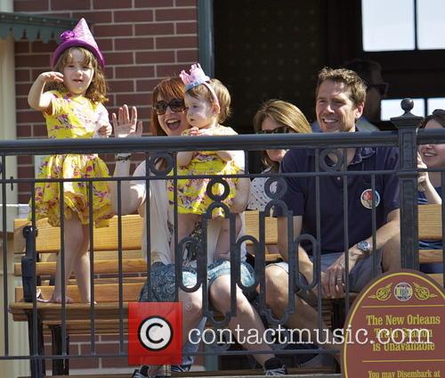 Alexis Denisof, Alyson Hannigan, Keeva Jane Denisof and Satyana Marie Denisof 11