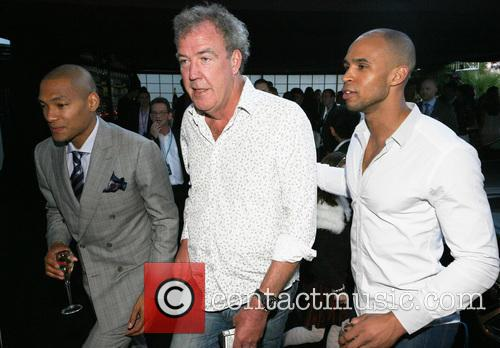 Cameron Jerome, Jeremy Clarkson and Damian Batt 7