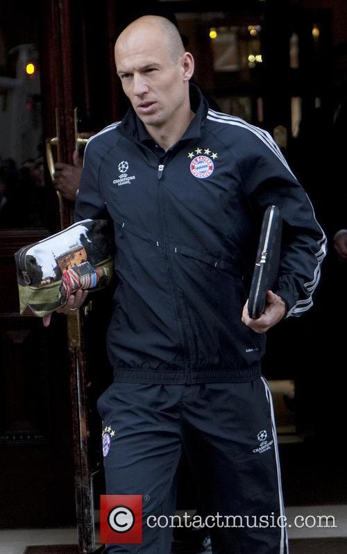 Bayern Munich Football Players in London