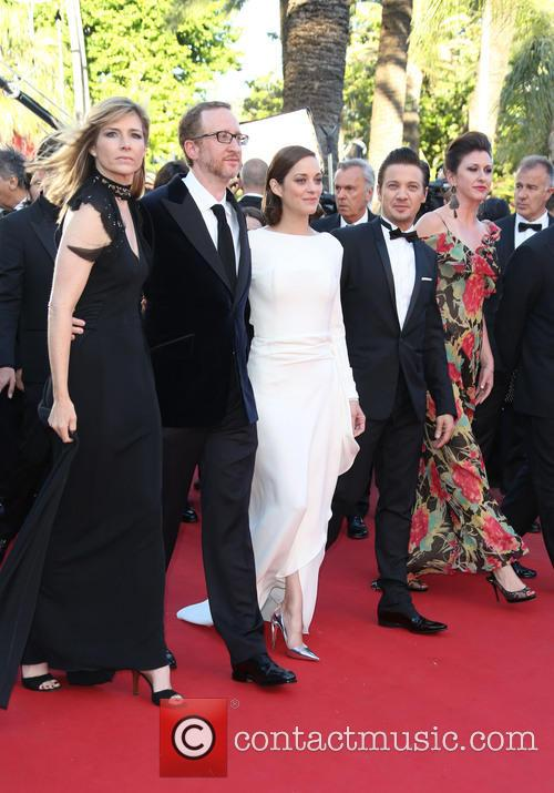 James Gray, Marion Cotillard and Jeremy Renner 1