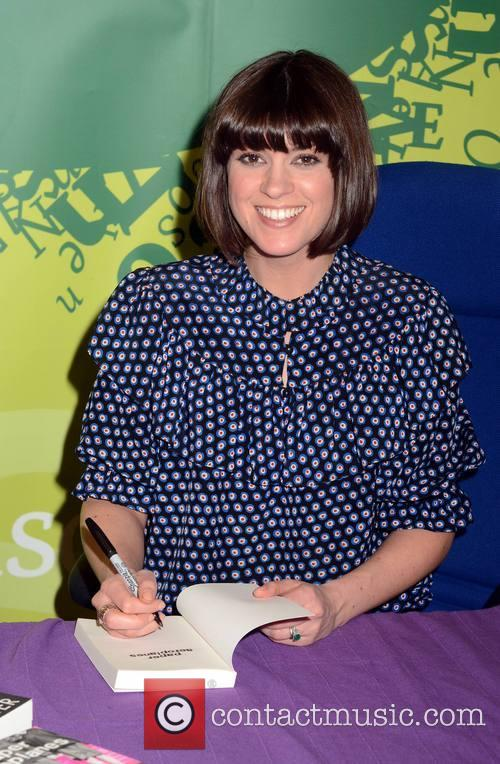Dawn O'Porter signs copies of her book