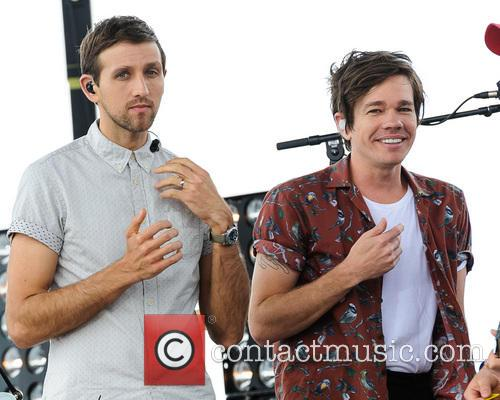 Nate Ruess and Andrew Dost Of Fun. 10