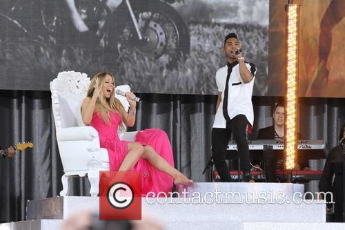 Mariah Carey and Miguel 3