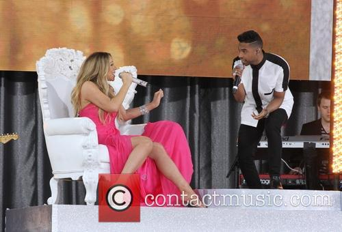 Mariah Carey and Miguel 5