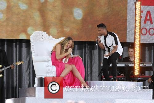 Mariah Carey and Miguel 4